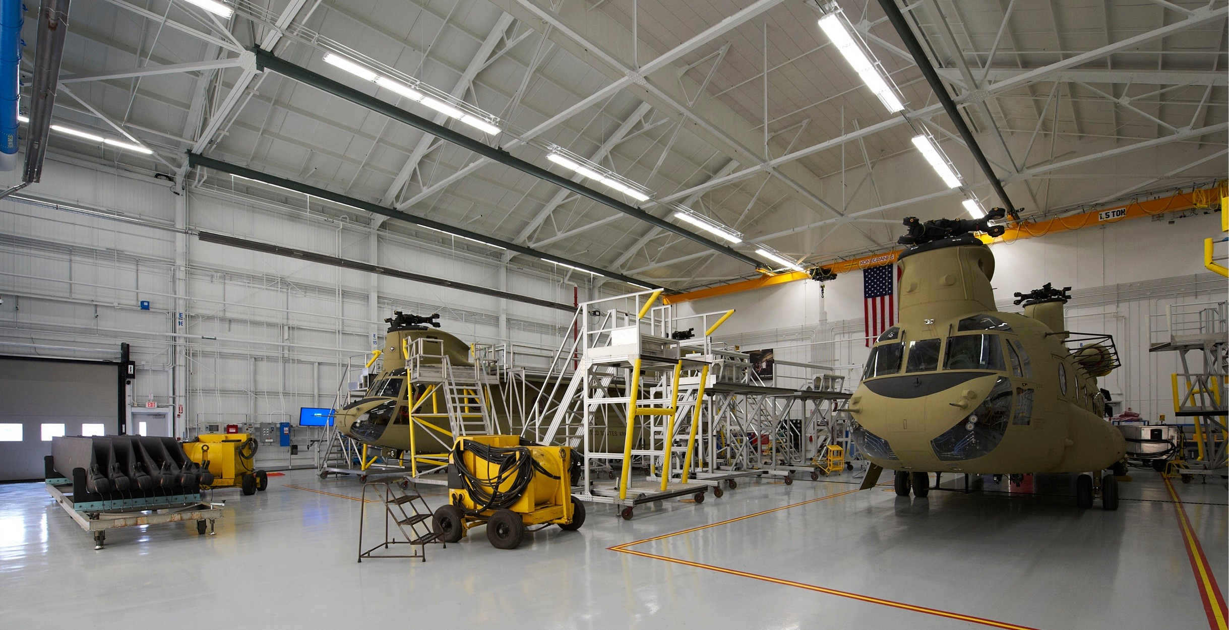 boeing center south  chinook h