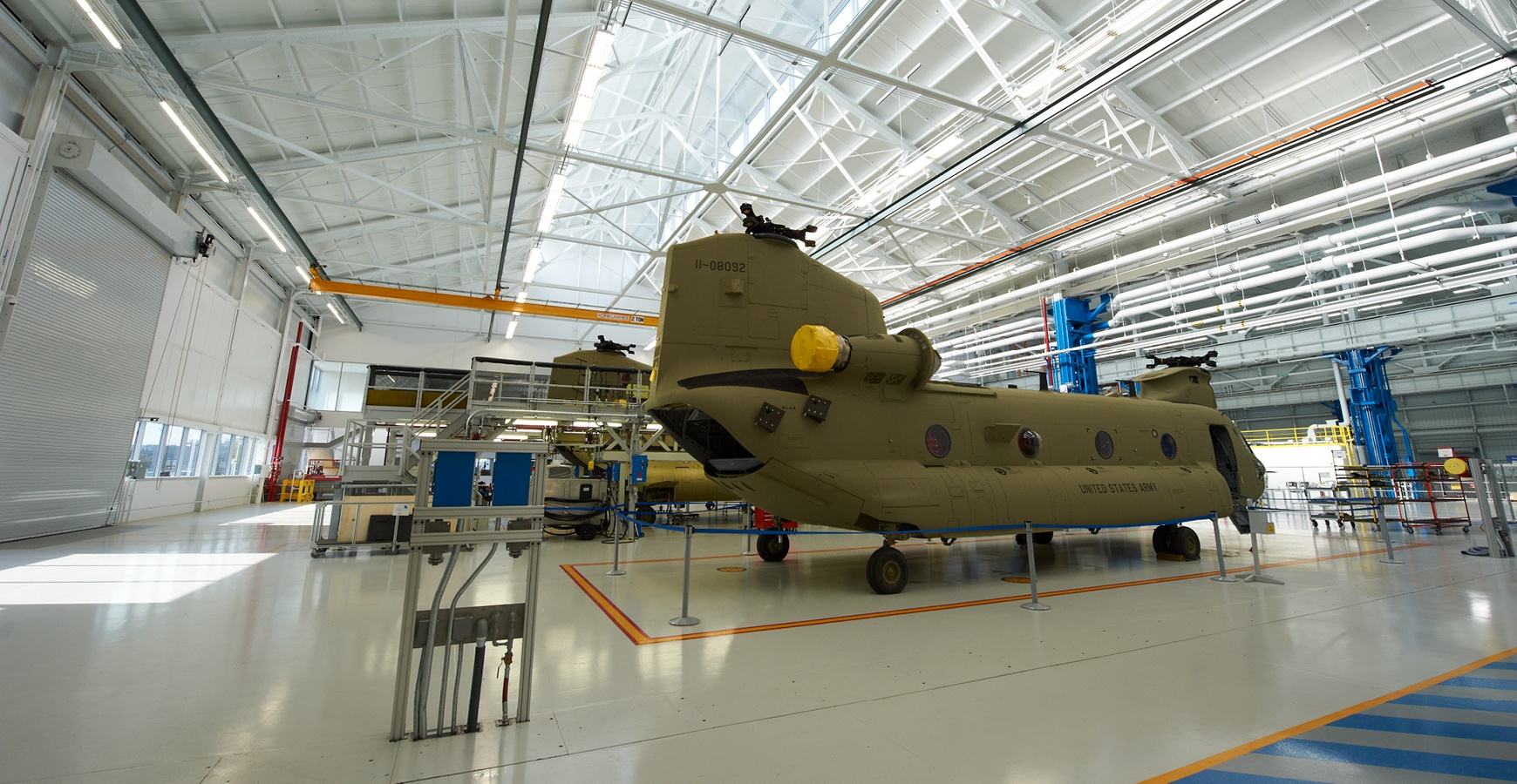 Boeing Center South, Chinook H-47 Focus Factory