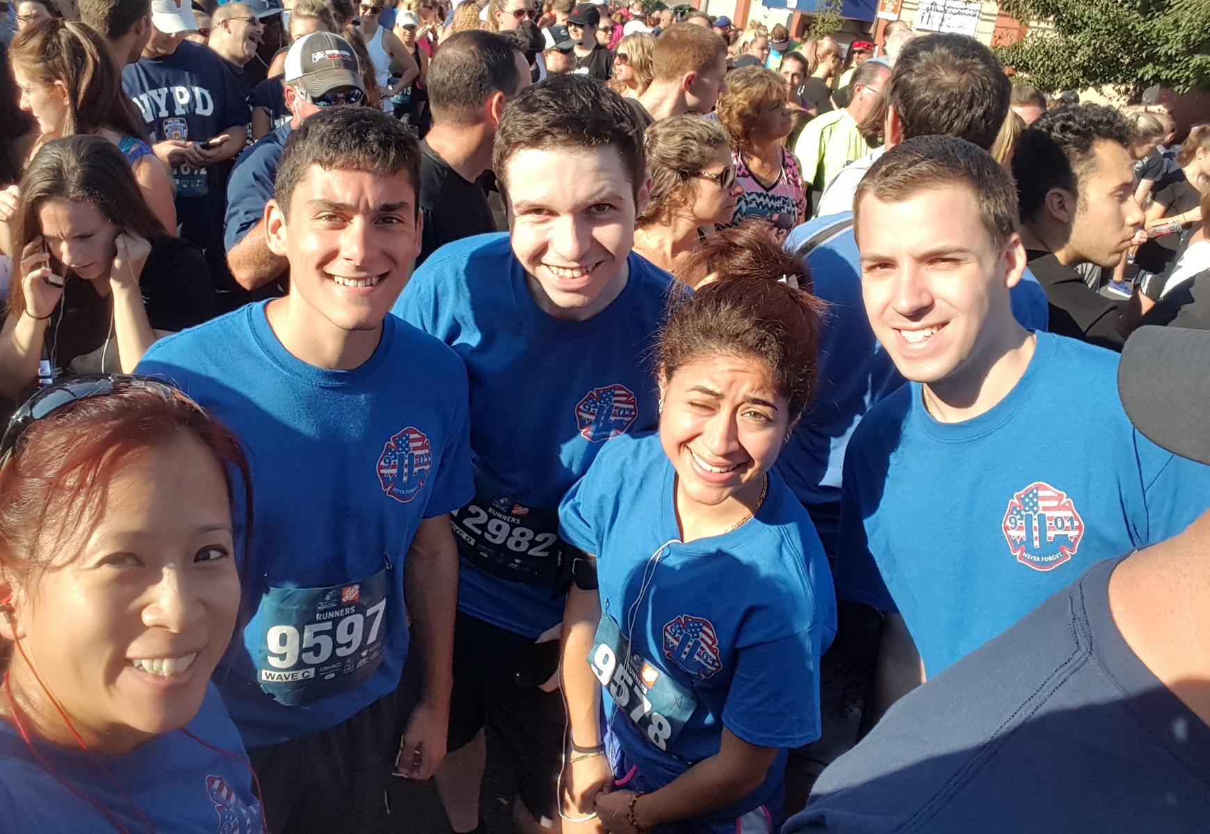STV Employees at the Tunnel to Towers 5K Run